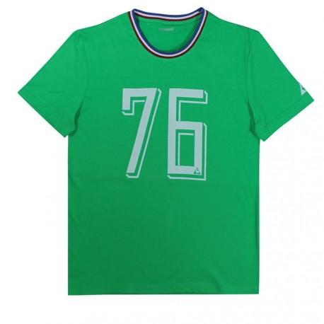 Tee-Shirt ASSE Le Coq Sportif 1976 vert