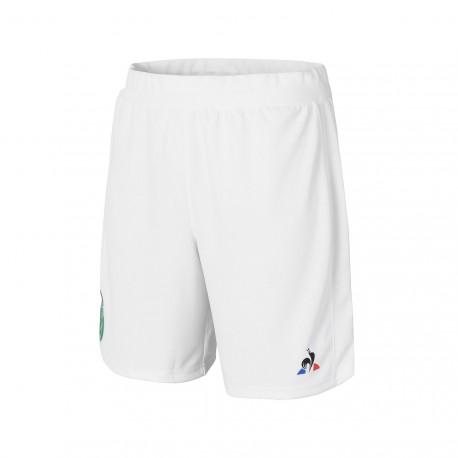 Short enfant blanc ASSE 2017 - 2018 Le Coq Sportif