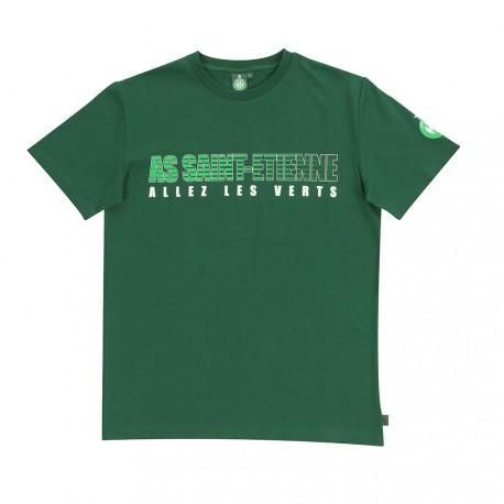 Tee-shirt ASSE Allez les verts ALV Vert 17/18