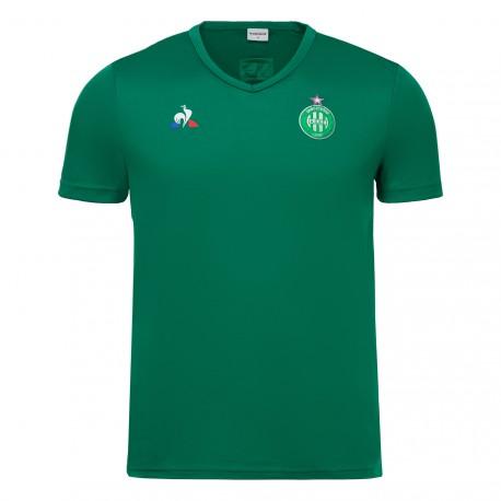Tee-shirt entraînement enfant VERT ASSE 2017 - 2018 Le Coq Sportif