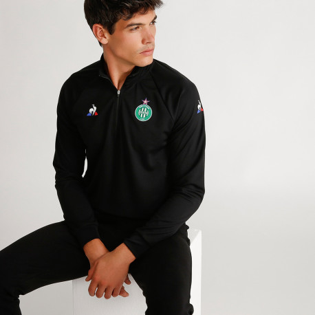 Training SWEAT ASSE Le coq sportif NOIR 2019 / 2020