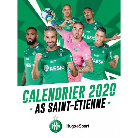 Agenda Calendrier Mural ASSE 2020
