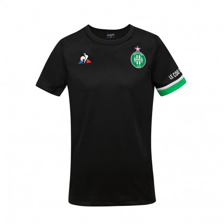Tee Shirt ASSE Enfant Training Noir Le Coq Sportif 2020 / 2021