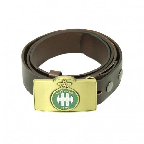 Coffret ceinture cuir ASSE