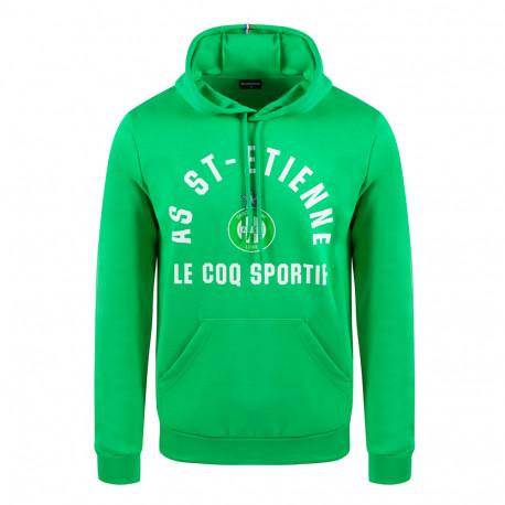 Sweat Capuche FAN N°1 ASSE Le Coq Sportif 2020 - 2021