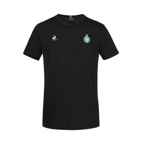 Tee-Shirt Présentation noir ASSE Le coq Sportif 2020 - 2021