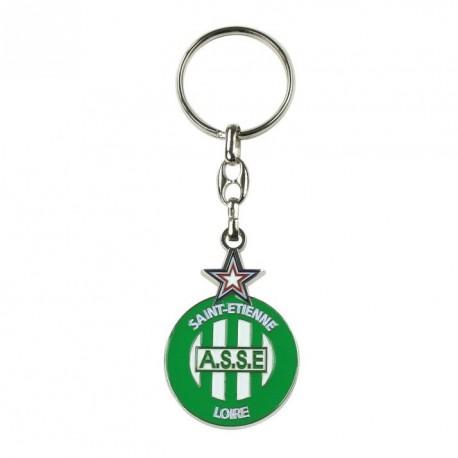 Porte-clés ASSE Logo Metal